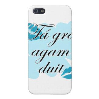 Tá grá agam duit - Irish Gaelic I love iPhone 5 Covers