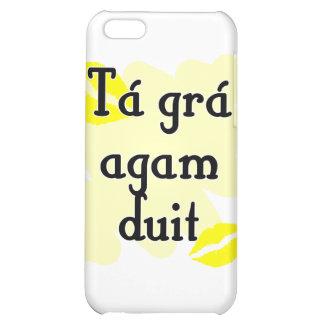 Tá grá agam duit - Irish Gaelic I love you Case For iPhone 5C