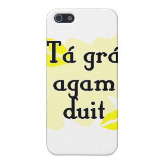 Tá grá agam duit - Irish Gaelic I love you Cases For iPhone 5