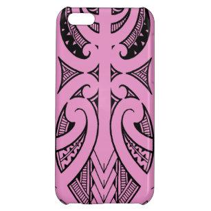 45e5c5859 Ta Moko traditional Maori tattoo design koru shape iPhone 5C Cover