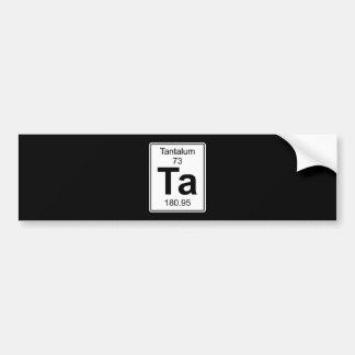 Ta - Tantalum Bumper Sticker