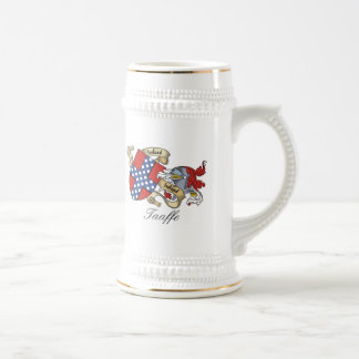 Taaffe Family Crest Beer Stein