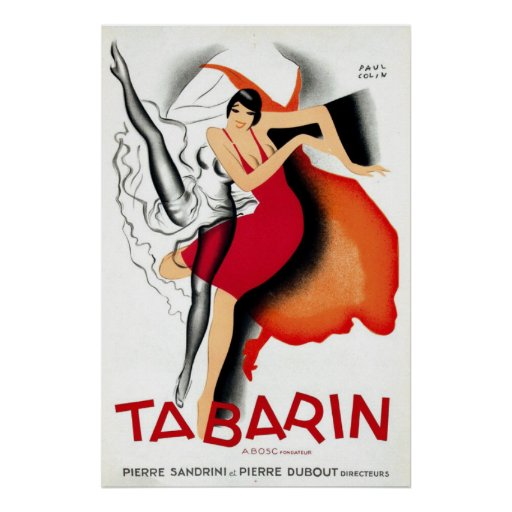 Tabarin by Paul Colin | Art Deco 1920s Posters