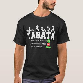 Tabata Cardio Bootcamp On/Off Workout Timer T-Shir T-Shirt