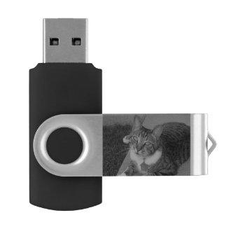 Tabby 16 GB Flash Drive Swivel USB 3.0 Flash Drive