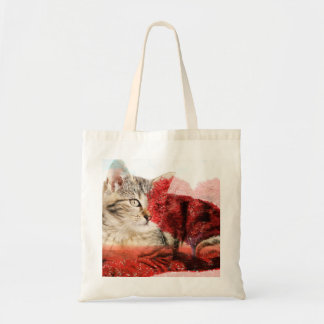 Tabby cat bag