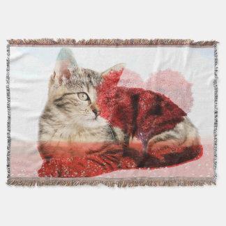 Tabby cat blanket