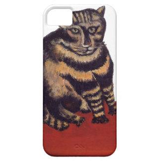 Tabby Cat by Henri Rousseau Barely There iPhone 5 Case