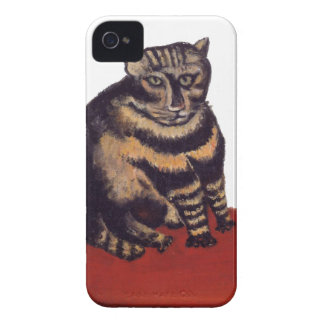 Tabby Cat by Henri Rousseau Case-Mate iPhone 4 Cases