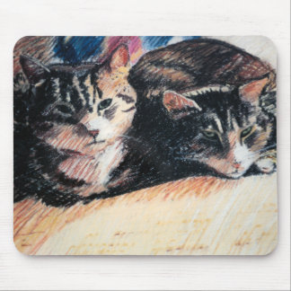 "Tabby Cat ""Catpad"" Mousepad"
