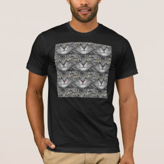 Tabby Cat Face T-Shirt