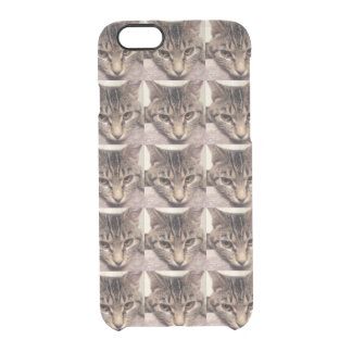 Tabby Cat-Instagram by Shirley Taylor Clear iPhone 6/6S Case