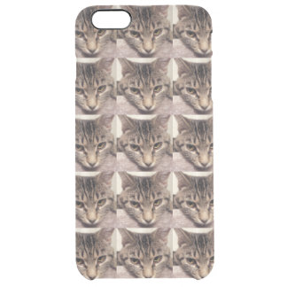 Tabby Cat-Instagram by Shirley Taylor Clear iPhone 6 Plus Case