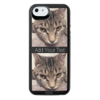 Tabby Cat-Instagram by Shirley Taylor iPhone SE/5/5s Battery Case