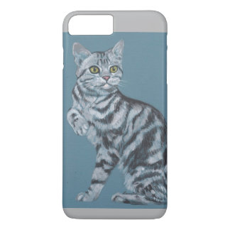 Tabby cat iPhone 7 plus case