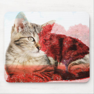 tabby cat mousemat