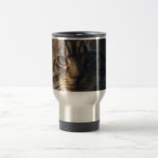 Tabby Cat - Stainless Steel Travel/Commuter Mug