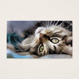 Tabby cat Watercolor