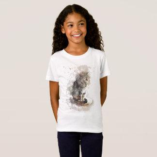 Tabby Cat Watercolor T-Shirt