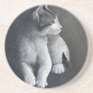 Tabby Kitten Coaster