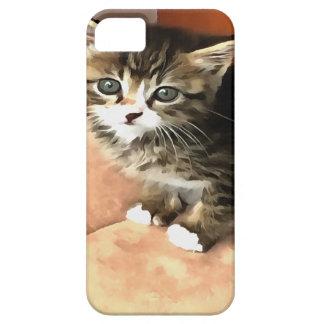 Tabby Kitten Named Miss Pip Squeak iPhone 5 Covers