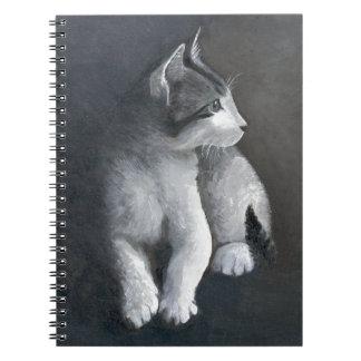 Tabby Kitten Notebook