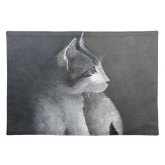 Tabby Kitten Placemat