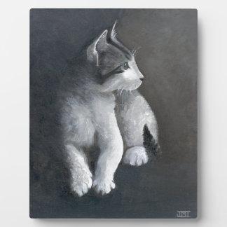 Tabby Kitten Plaque