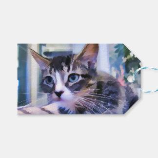 Tabby Kitten Watercolor