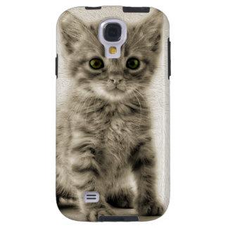 Tabby Kitty Galaxy S4 Case