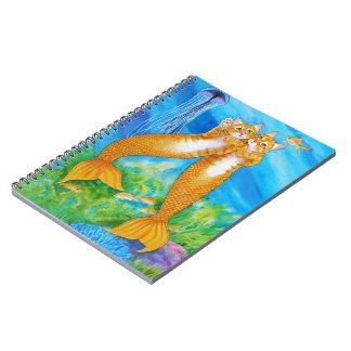 Tabby MerCats Spiral Notebook