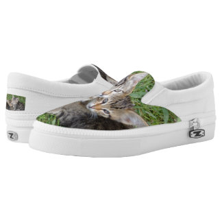 Tabby SistersCustom Zipz Slip On Shoes,Men & Women Printed Shoes