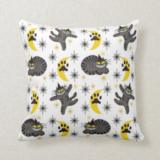 Tabby The Black Cat Witch Cushion