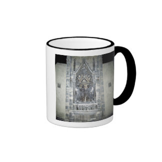 Tabernacle with Four Crowned Saints Ringer Mug