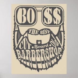 Table barbershop original' S Poster