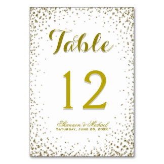 Table Card | Glitter Party