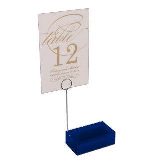 Table Card Holder uni Blue