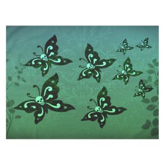 Table Cloth - Skullerflies in the Garden