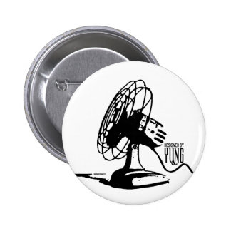 Table Fan 6 Cm Round Badge