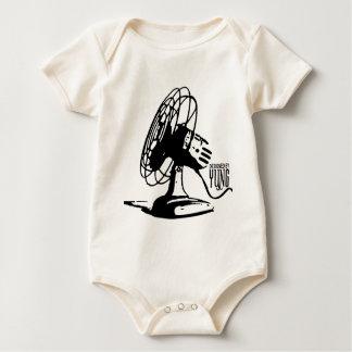 Table Fan Baby Bodysuit