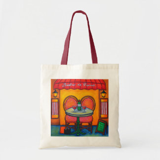 """""""Table for Two in Paris"""" Tote Bag"""
