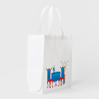 Table for Two Resuable Bag Market Totes