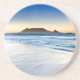 Table Mountain Across Table Bay Beverage Coaster