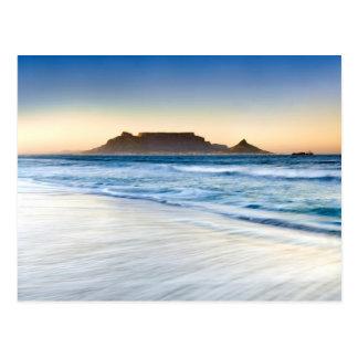Table Mountain Across Table Bay Postcard