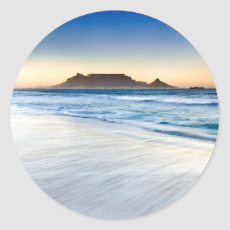 Table Mountain Across Table Bay Round Sticker