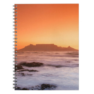 Table Mountain At Sunset, Bloubergstrand Notebooks