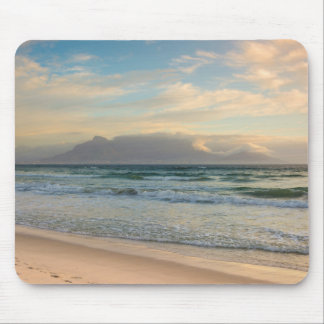 Table Mountain, Cape Town, South Africa at sunset Mouse Pad