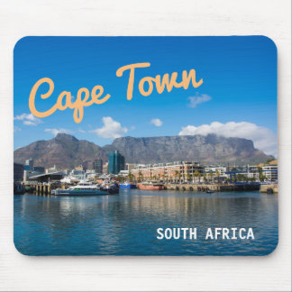 Table Mountain in Cape Town, South Africa. Mouse Pad