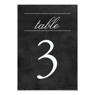 Table Number Card | Chalkboard 9 Cm X 13 Cm Invitation Card