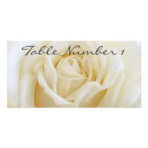 Table Number Cards Picture Card